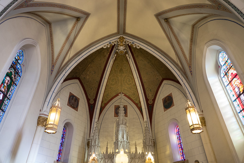 loretto chapel ceiling