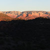 Sunset from Wild Camp Near Sedona Arizona