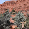 Red Rock Along Little Horse Trail in Sedona Arizona