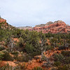 View from Longs Canyon Trail in Sedona Arizona