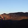 Panorama of Sunrise Over Sedona Arizona from Schnebly Hill Road