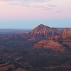 Sunrise from Schnebly Hill Road Vista Over Sedona Arizona