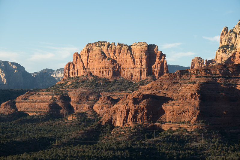 Sunset Over Sedona from the Saddle on the Hangover Trail