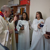 2016 confirmation service at the Lutheran Church of Hope in Ramallah. Photo by Ben Gray
