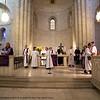 Stripping the altar. (© Danae Hudson/ELCJHL)