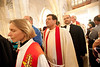 """International partners from Europe and North America join with clergy serving in Jerusalem in the procession at the Ordination of Rev. Ashraf Tannous. ©  <a href=""""http://www.ryanrodrickbeiler.com"""">http://www.ryanrodrickbeiler.com</a>"""