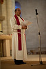 """Rev. Imad Haddad, pastor of the Evangelical Lutheran Church in Beit Sahour greets the assembly and reads the Psalm at the service of Ordination for Rev. Ashraf Tannous.  ©  <a href=""""http://www.ryanrodrickbeiler.com"""">http://www.ryanrodrickbeiler.com</a>"""