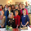 back row L-R: Sharon Weddle, Rose Marie Nauta, Claudia Hamilton, Linda Storey, Dave Storey<br /> middle row: Margaret Shugert, Raeann Decker, Carol Williams<br /> front row: Rhonda Jeremiah, Jackie Gleason, Patty Wilhite, Betsy Wynne<br /> Deacon Retreat, the Hearth, Jan. 11, 2014