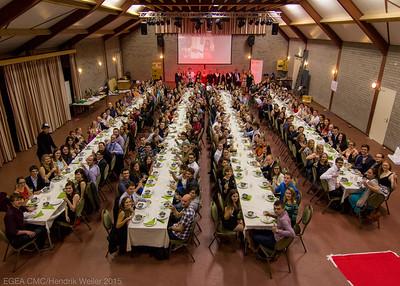 Gala dinner group photo.