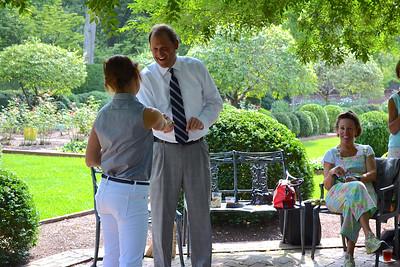 Congressman Andy Barr Visit to Ashland Garden