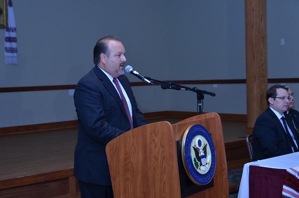 Congressman Roskam at St. Andrews UOC 8/14