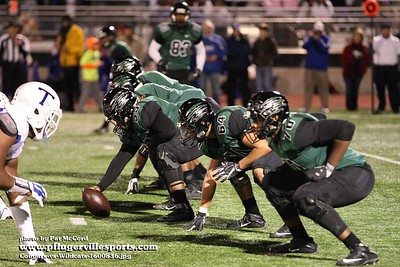 161119 Connally Cougars vs Temple Wildcats