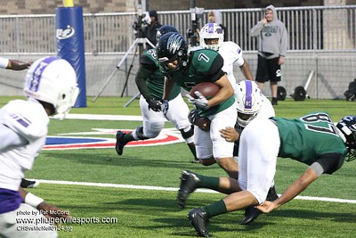 170928 Connally Cougars vs Elgin Wildcats