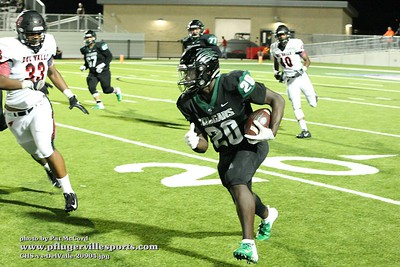 180907 Connally Cougars vs Del Valle Cardinals