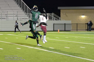 191025 Connally Cougars vs Rouse Raiders