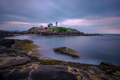 The Nubble Lighthouse at Cape Neddick, Maine