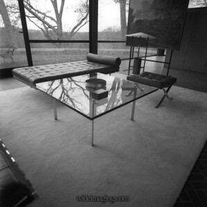 The Glass House, New Canaan