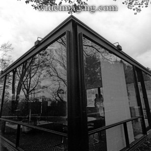 Philip Johnson's glass house in New Canaan, November 6, 2011.