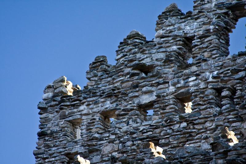 Detail of castle top