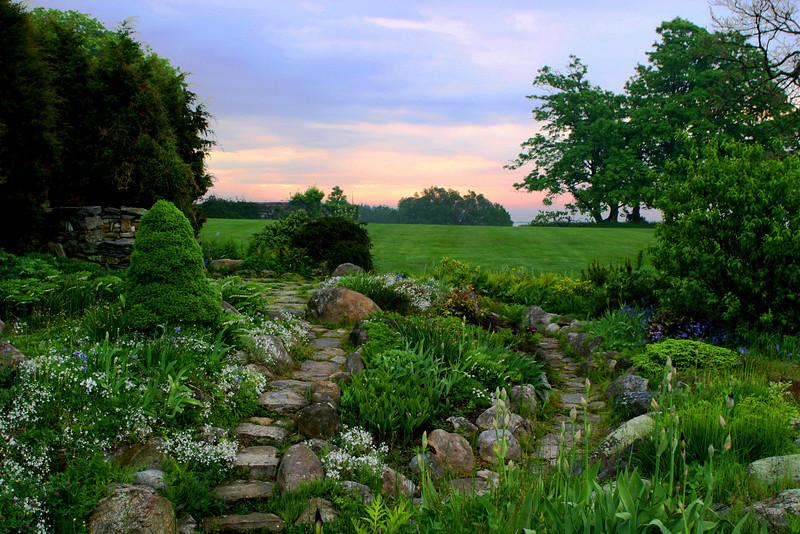 Sunrise over Harness Garden