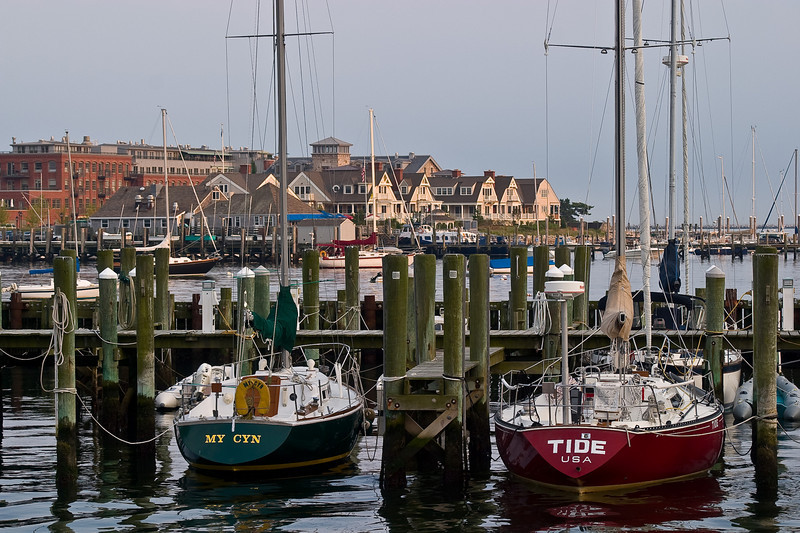 Today, modern homes and docks for recreational boats have lined the waterfront and obscure the historic homes behind.
