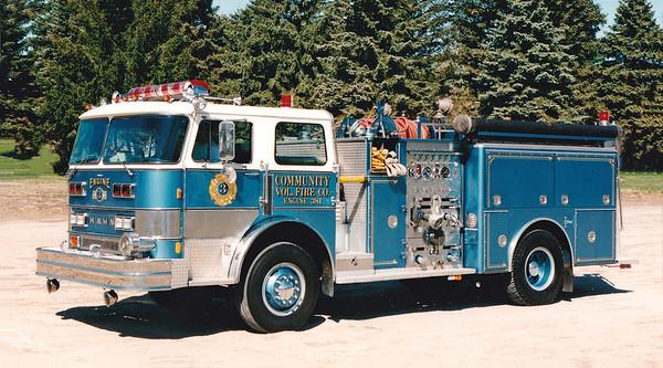 Retired Engine 381.  1976 Hahn.  1250 / 750