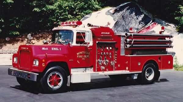 Retired Engine 1   1972 Mack R / Bean.  750 / 750