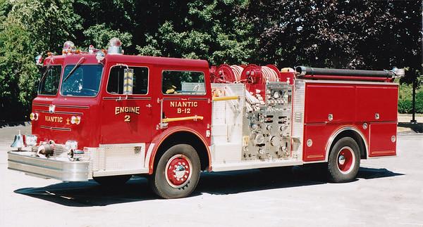 Retired Engine B-12   1978 Maxim   1500 / 500