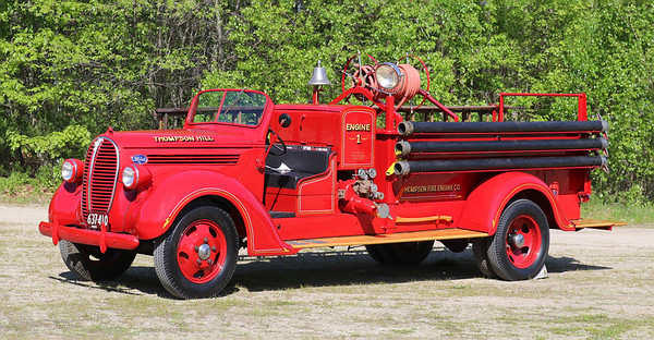Retired   Engine 1   1938 Ford / Maxim   500 GPM