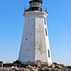 The wooden lighthouse would last until September 1821 when the Norfolk and Long Island Hurricane struck Fayerweather Island and flattened the tower.  A new lighthouse was built in 1823.
