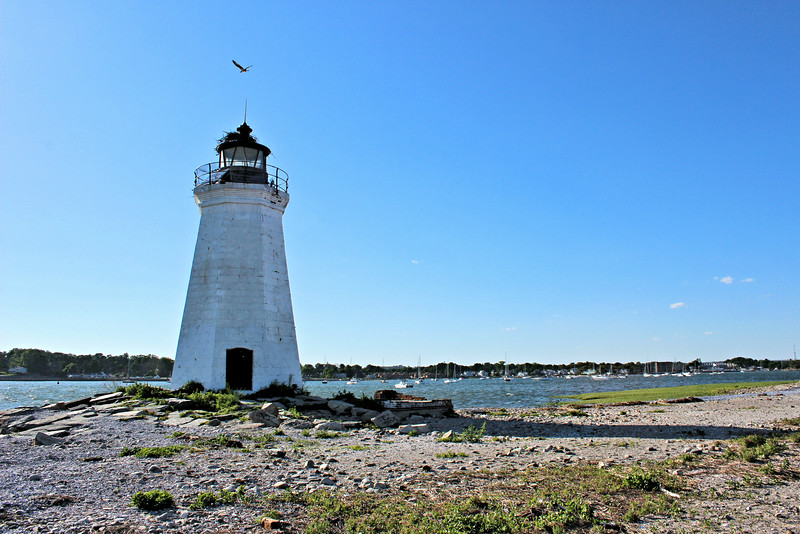 The lighthouse and property were licensed to the City of Bridgeport in 1934 for use as a public park.  The area adjacent to the island was a recreation area known as Seaside Park which had been established in the late 19th century by P.T. Barnum.  Over time, however, the lighthouse became a victim of neglect and vandalism.