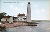 New London Harbor Light postcard 001