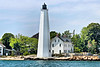 By the mid 1700's New London had grown into one of the busiest whaling ports on the eastern seaboard.  In October of 1760 local merchants petitioned the colony's Assembly to erect a lighthouse at the port's entrance.
