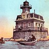 In 2012 Hurricane Sandy damaged the lighthouse.   The Coast Guard used $1M in funds from the 2013 Disaster Relief Appropriations Act to repair the lighthouse.  Repairs were completed in early 2015 and in July 2016 the lighthouse was put out to auction.  In October 2016 the bidding closed with a winning bid of $282,345.  The Penfield Reef Lighthouse is now under private ownership, but stills exhibits its signal to mariners continuing its mission to safeguard sailors.
