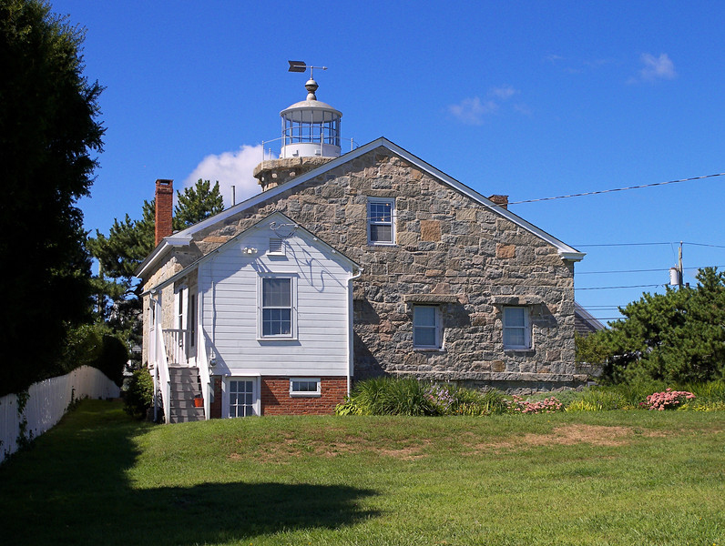 On May 7, 1822 Congress responded by appropriating $3,500 to build a lighthouse.  The light would serve as a guide into Stonington Harbor and it would also help ships navigate Fishers Island Sound.