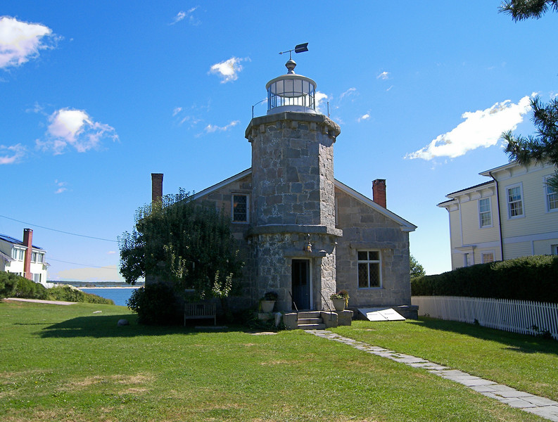 Keeper Potter, who had served at Stonington Light since 1824, passed away in 1842.  His widow Patty was offered the position as Keeper which she accepted.  An 1848 inspection report found the lighthouse and dwelling to be in deplorable shape stating the inspector found 'the most filthy house he had ever visited; everything appeared to be neglected'.  Things must have improved in following years as Patty continued in her position until 1854.