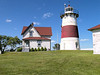 Perhaps the most colorful Keeper to serve at Stratford Point Light was Theodore 'Theed' Judson who served from 1880 to 1919.  Theed regaled visitors and newspapermen with stories of mermaids sunning themselves on nearby rocks and his attempts to capture them; or about huge sea serpents swimming in the sea just off the light.