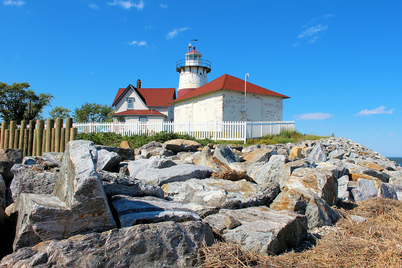 In August 1869 the Buddington era of lighthouse Keepers came to an end when Benedict Lillingston was appointed Keeper of the Stratford Point Lighthouse, his son Frederick was named the assistant to his father.    Also living in the household was Lottie, Benedict's young granddaughter.