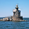 In 1837 $10,000 was appropriated to build a lightship to mark Stratford Shoal, also known as Middle Ground Shoal, midway between Long Island and Connecticut.  On January 12, 1838 the completed 120 ton Light Vessel 15 was placed into position at the southeastern end of the shoal.  The lightship would have a long history of being dragged off-station by foul weather.