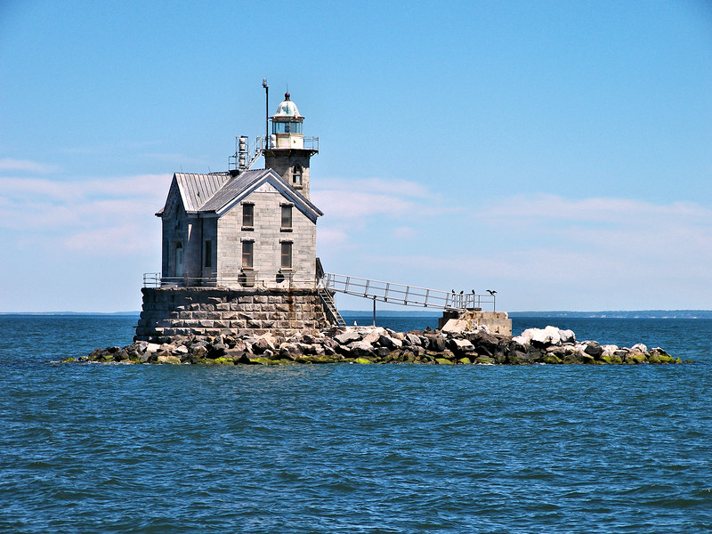 On July 1, 1970 the Stratford Shoal Lighthouse was automated and its crew of 4 Coast Guardsmen was removed.  In 2014 the Coast Guard declared the light to be excess and it was made available under the National Historic Lighthouse Preservation Act.