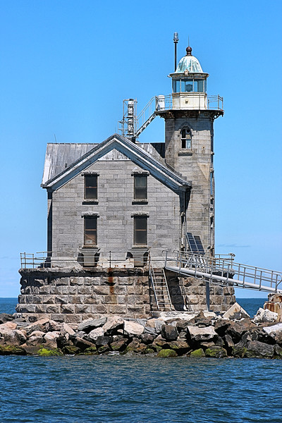 The keepers of the Stratford Shoal Light led an isolated existence of monotony.  This life may have contributed to one of the assistant Keepers going insane in 1905.  While the head keeper was ashore, 1st Assistant Morrell Hulse noticed that 2nd Assistant Julius Koster began to act strangely.  Then suddenly Koster attacked Hulse in a fit of rage.  After Hulse had fought off the attack, Koster locked himself in the lantern and threatened to destroy the Fresnel lens with an ax.