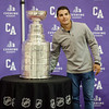 Penguins player and Cushing Academy alum Conor Sheary spent his day with the Stanley Cup taking photos with fans, family, and staff at Cushing. SENTINEL & ENTERPRISE / Ashley Green