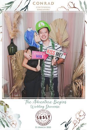 Conrad Wedding Showcase 2020 | © www.SRSLYPhotobooth.sg