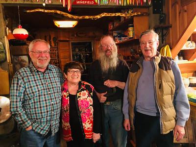 Todd, Linda, Jay, Lee, 2019