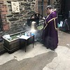 incense is blessed and placed under the bell