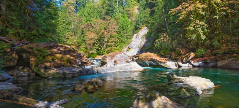 Summer in the Green River Gorge