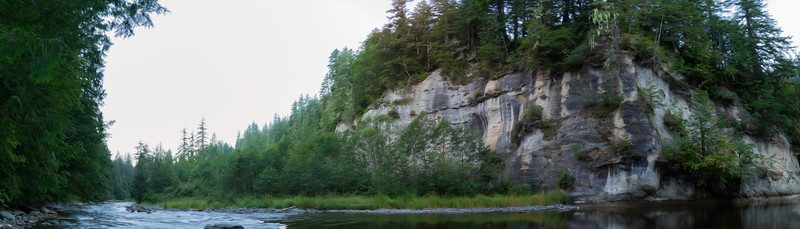 Hanging Gardens at Dawn in the Green River Gorge