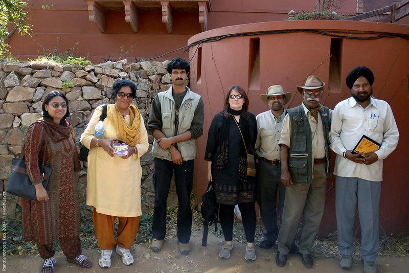 Priya, Madhu, Dharmendra, Connie, Ashutosh, Fateh and Mr. Kala