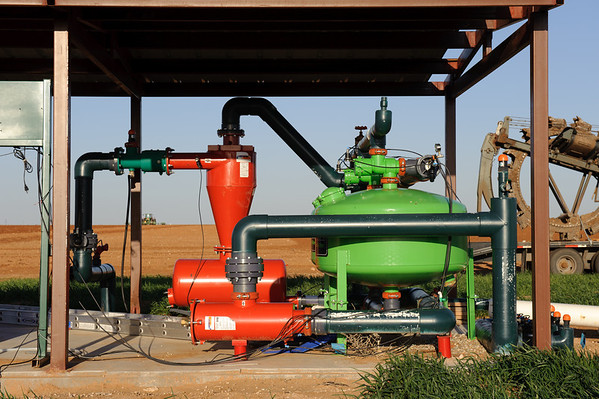 Steven Thomas Farm -- sub surface drip irrigation system in Cochran County near Morton, Texas.