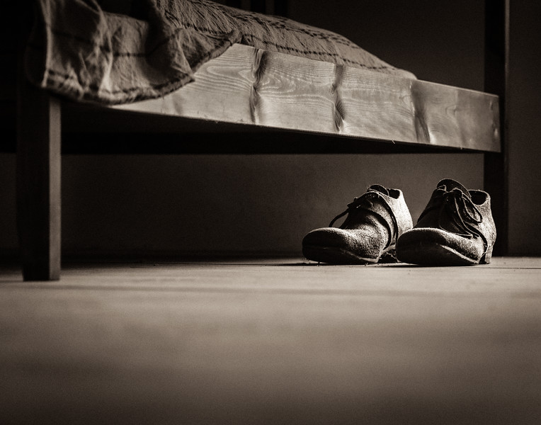 My Lonely, Only Pair of Shoes -